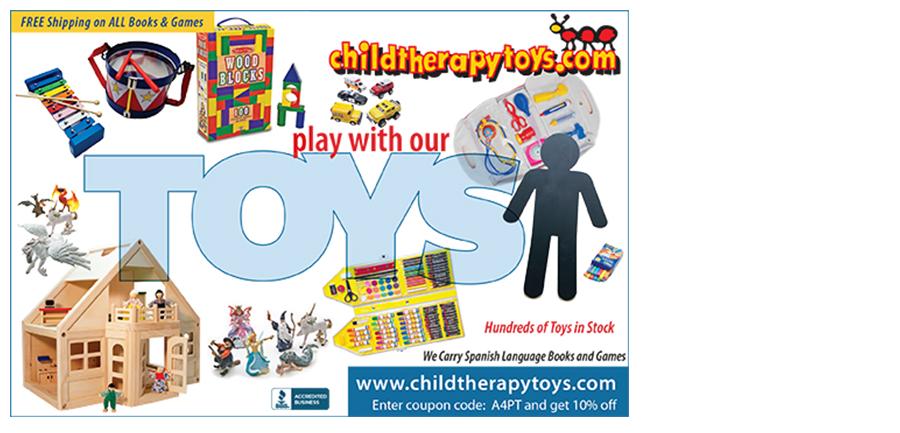 childtherapytoys.com Print ad