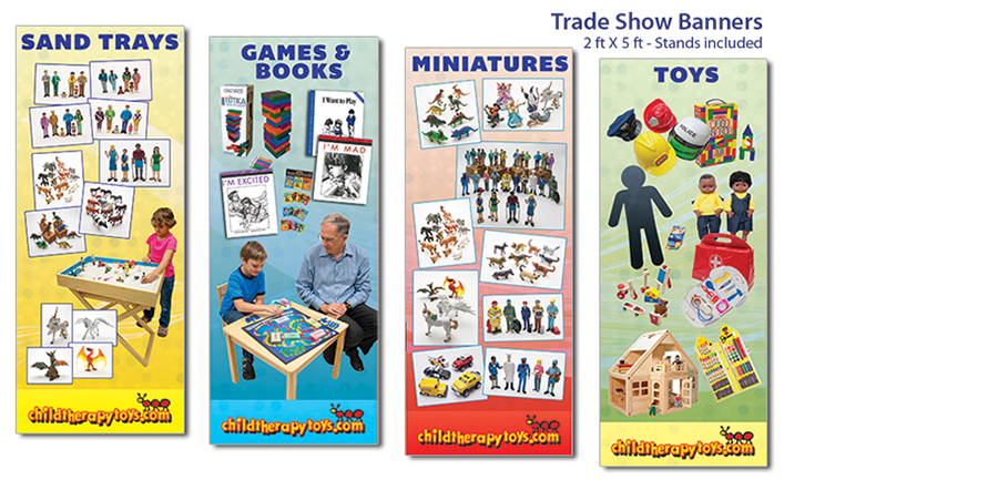 childtherapytoys.com Conference Exhibit Banners