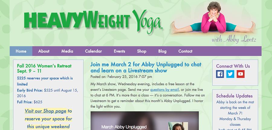 Heavyweight Yoga