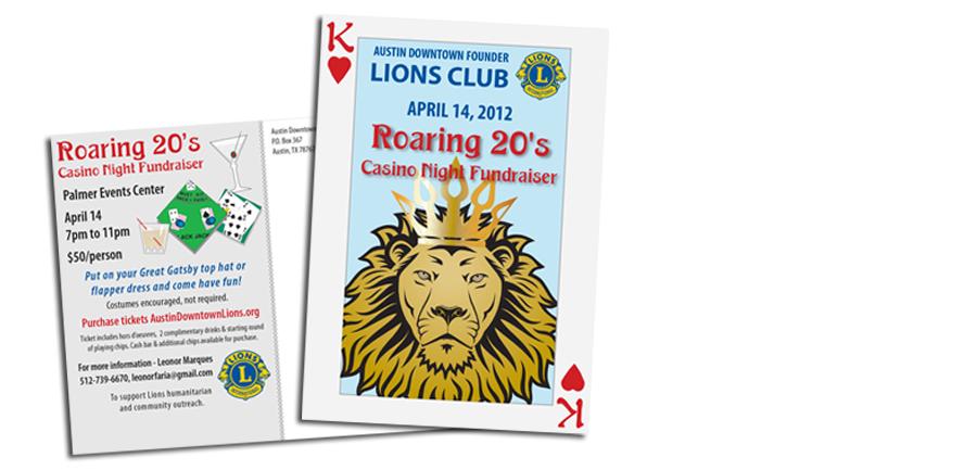 Lion's Club Event Postcard