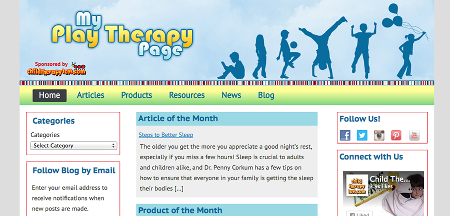 My Play Therapy Page
