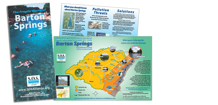 Save Our Springs Brochure