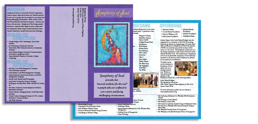 Symphony of Soul Brochure